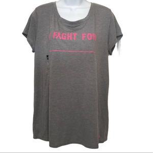 Under Armour I fight for T-shirt Size Large